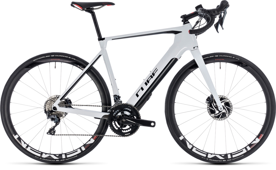 cube agree hybrid c62 sl disc white black 2018