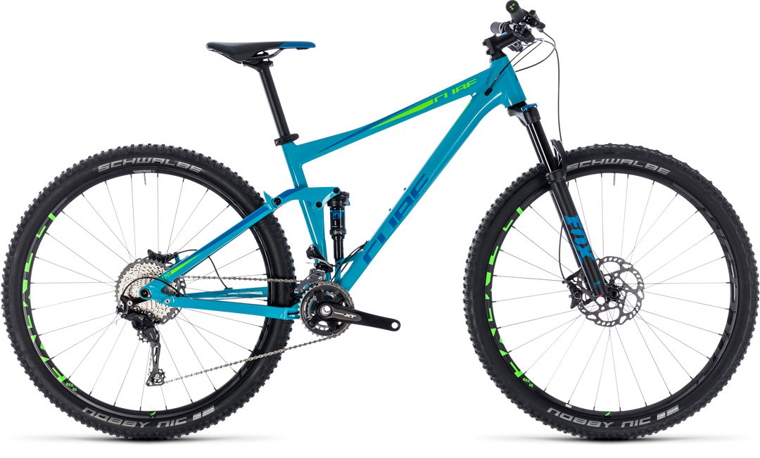 cube stereo 120 race bluengreen 2018