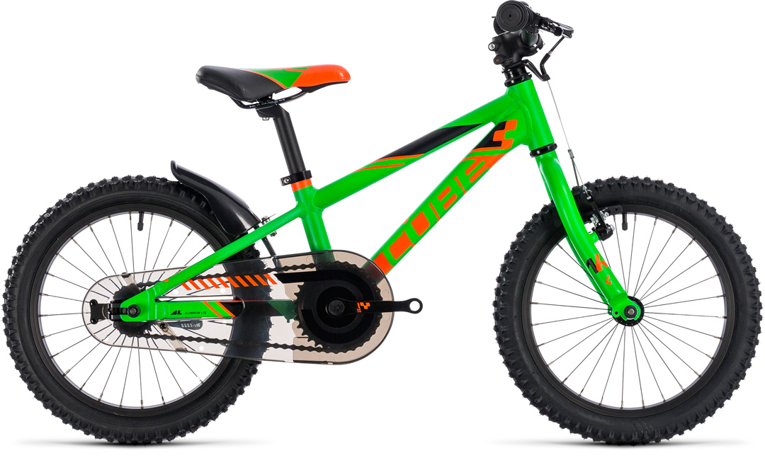 cube kid160 flashgreennorange 2018