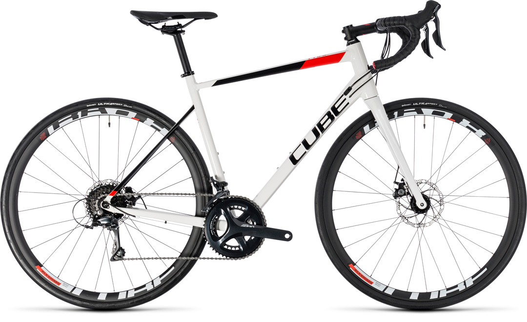 cube attain pro disc whitenred 2018