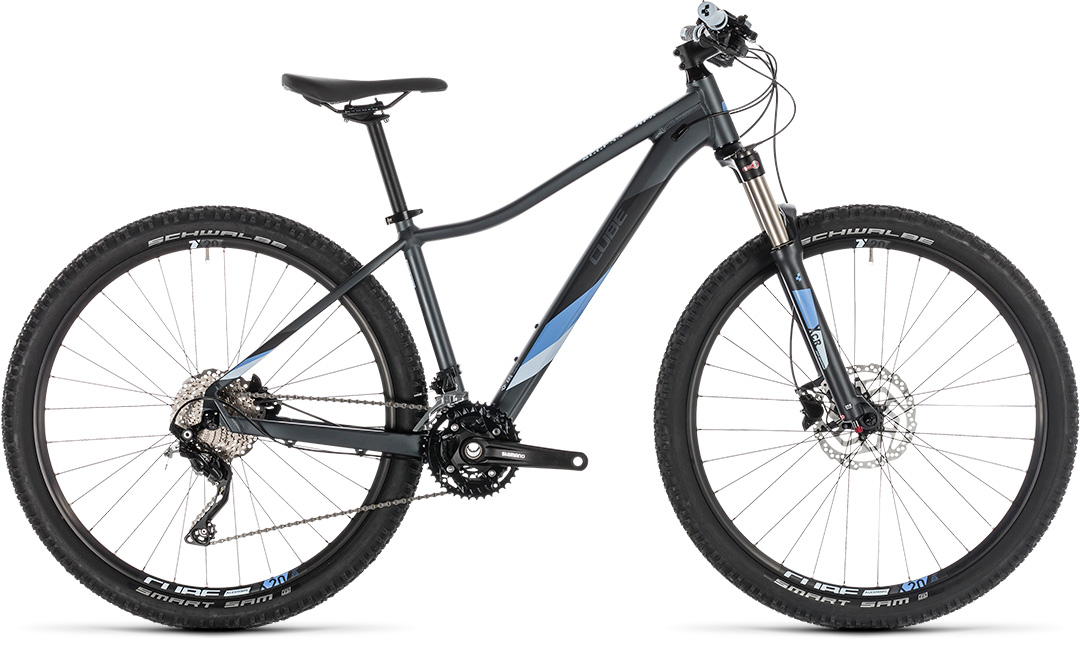 cube access ws race iridium n blue 2019