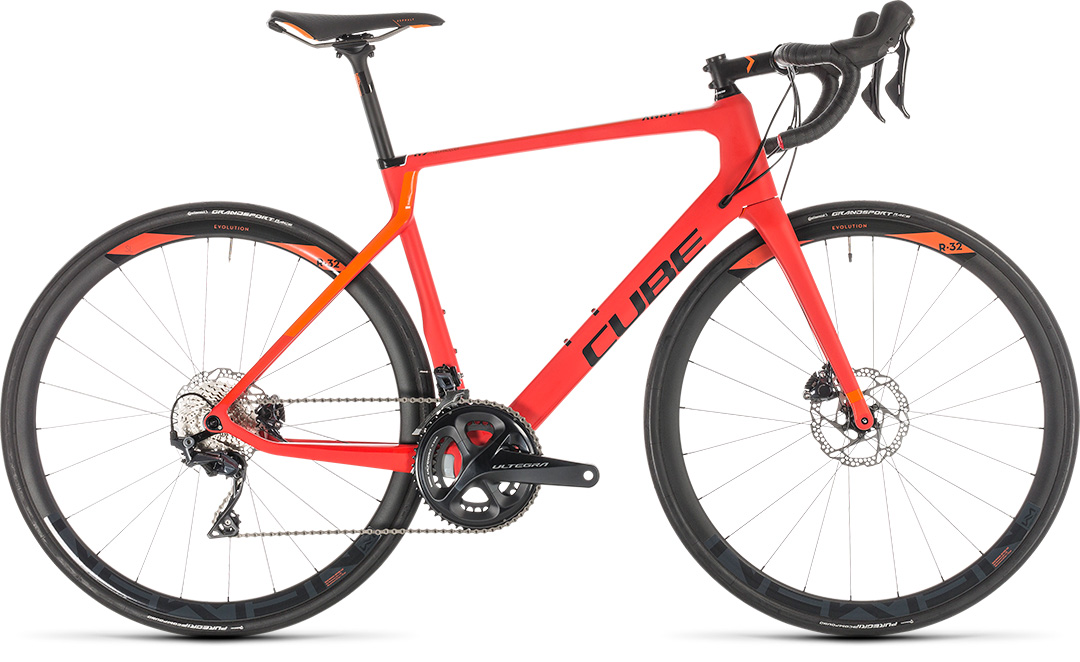 cube agree c 62 race disc red n orange 2019